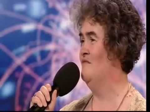 Susan Boyle great  performance in britains got talent (2009)