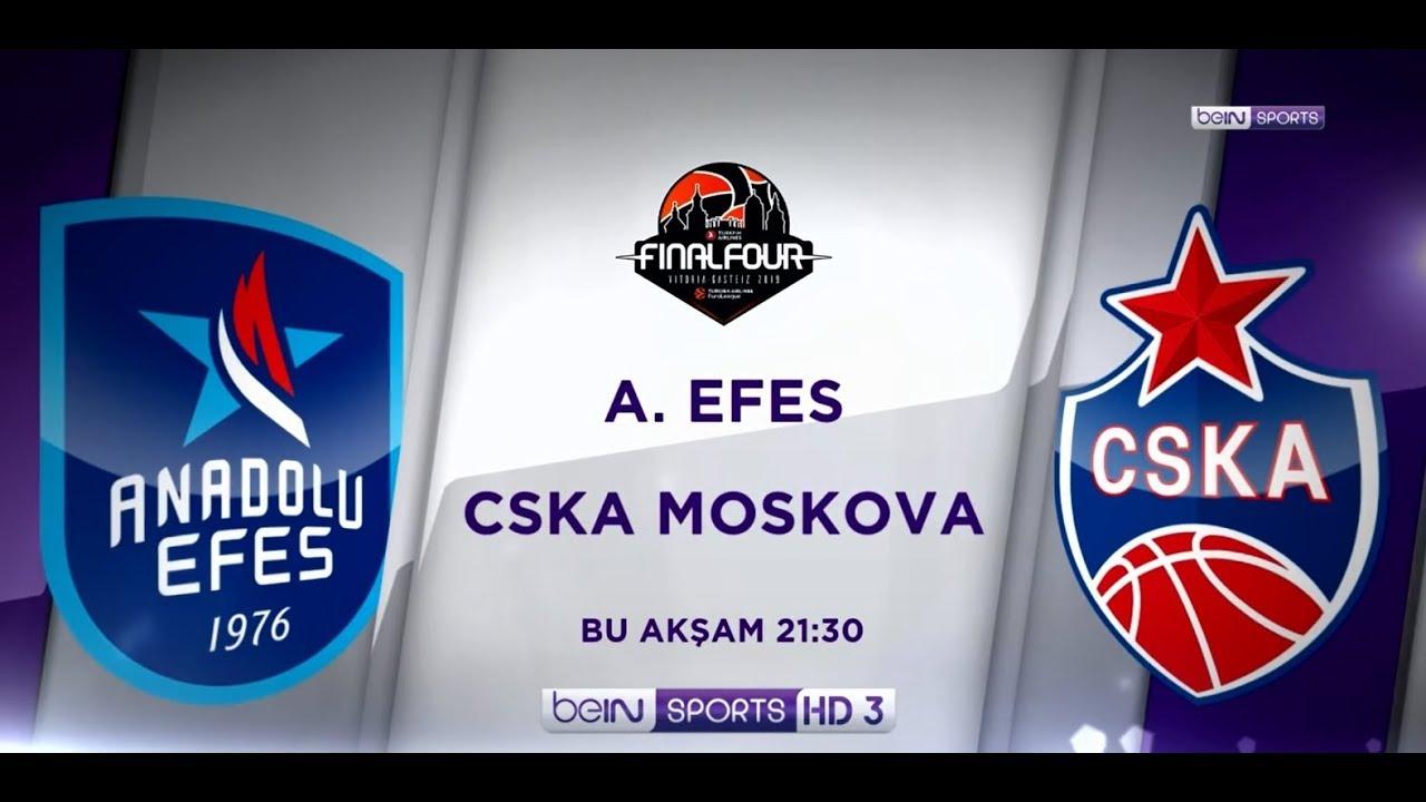 19 Mayıs 2019 | Anadolu Efes-CSKA Moskova EuroLeague Final Mücadelesi beIN SPORTS'ta!