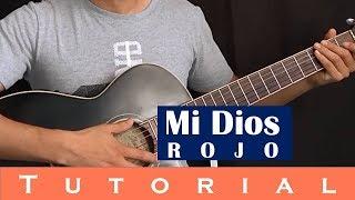 Mi Dios - Rojo (Tutorial guitarra)
