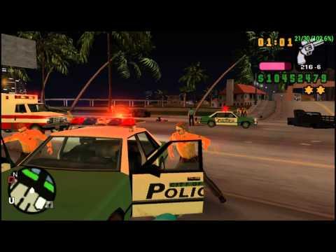 GTA VICE CITY STORIES PSP SIX STAR CHELLENGE