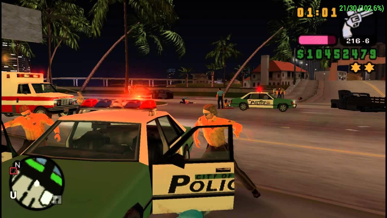Gta vice city police drift show bug - 3 3