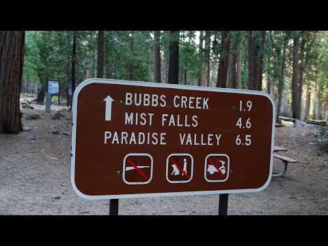 Kings Canyon Mist Falls