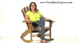 Breezesta's Maintenance Free Patio Furniture - The Coastal Adirondack Rocker