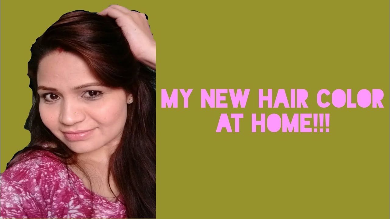 My new hair color  At home  Streax Pro - YouTube