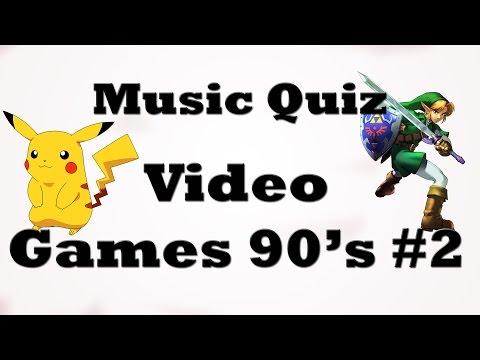 Music Quiz - Video Games 90's #2