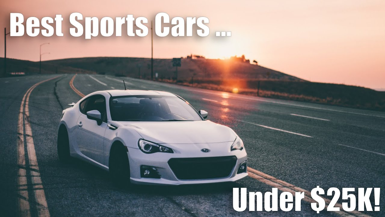 Awesome Best Sports Cars Under $25k!