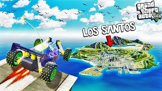 Jumping the WORLDS FASTEST RC CAR over the ENTIRE MAP in GTA 5