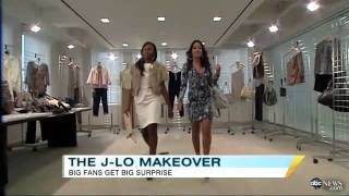 Jennifer Lopez Surprises Two Fans with Makeover  Video - ABC News.mp4