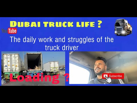 Dubai to Ras Al Khor Trip | Truck life | Hayerjatt