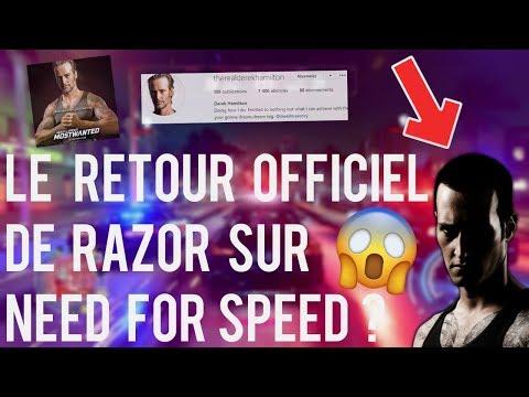 NEED FOR SPEED   LE RETOUR OFFICIEL DE RAZOR SUR NFS 2021 ? + EASTER EGG RAZOR NFS HEAT