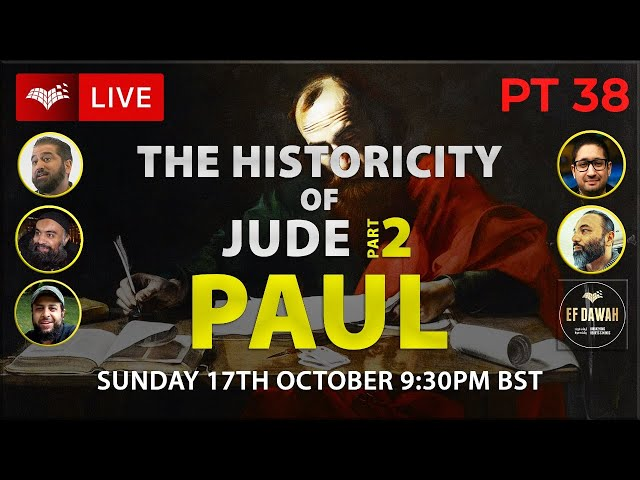 Testing the Historicity of Jude 2   Paul   Pt 38