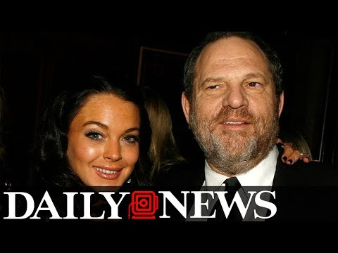 Lindsay Lohan defends Weinstein