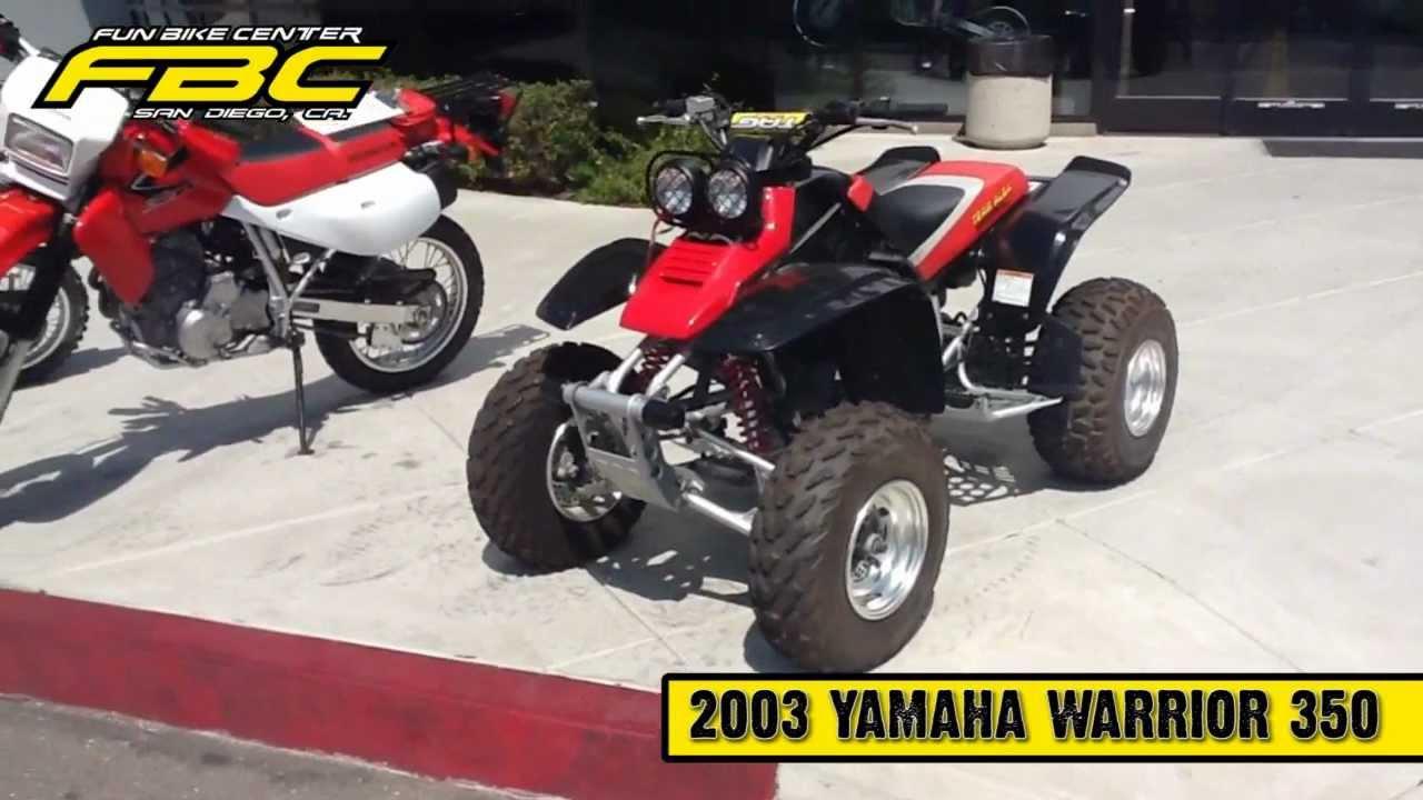 Fbc - 2003 Yamaha Warrior 350 Atv
