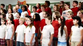 4th grade concert America (my country tis of thee)