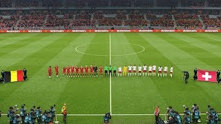 Belgium vs Switzerland UEFA Nations League 12 October 2018 Gameplay