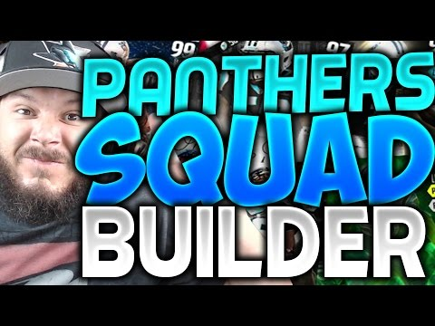 ALL-TIME CAROLINA PANTHERS SQUAD BUILDERS & GAMEPLAY | MADDEN 16 ULTIMATE TEAM