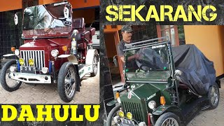 Modifikasi motor full upgrade !! Motor Matic jadi Mobil antik part II