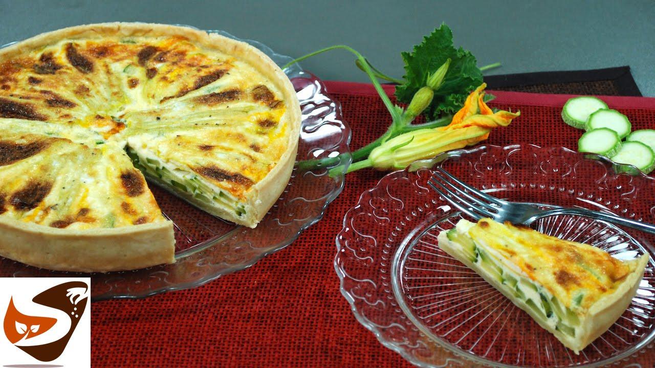 Torta salata con zucchine ricetta di quiche rustica for Antipasti sfiziosi