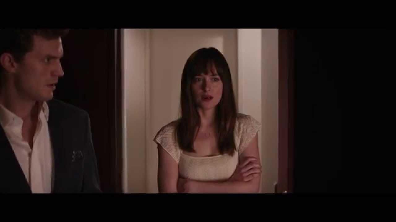 """Pour un moment tout en douceur. Cinquante Nuances de Grey / Extrait 4 """"Ana découvre la ..."""