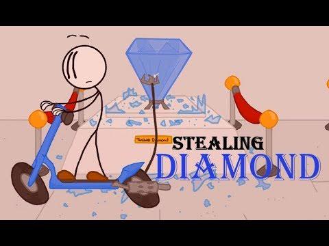 stealing the diamond henry stickman