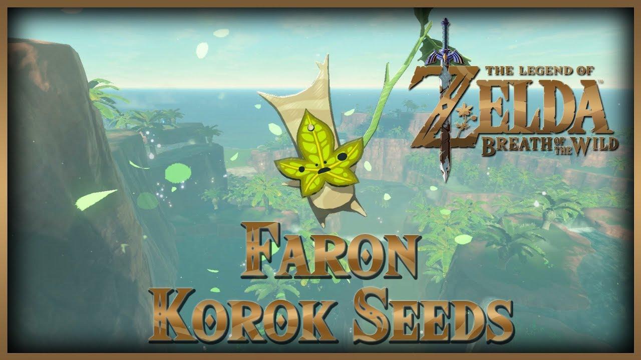 Zelda Breath of the Wild • Korok Seeds • Faron