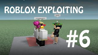 BOMBING THE GYM | ROBLOX EXPLOITING 6