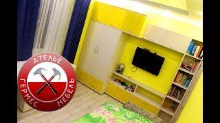 видео Дизайн детской комнаты для двух мальчиков