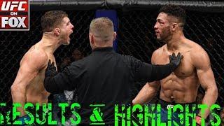 UFC On FOX 31 Results & Highlights : Lee vs Laquinta 2