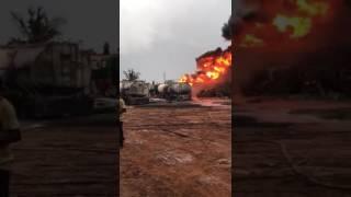 Ashaiman Tanker Yard Fire