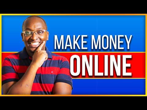 9 Ways to make money online in Kenya
