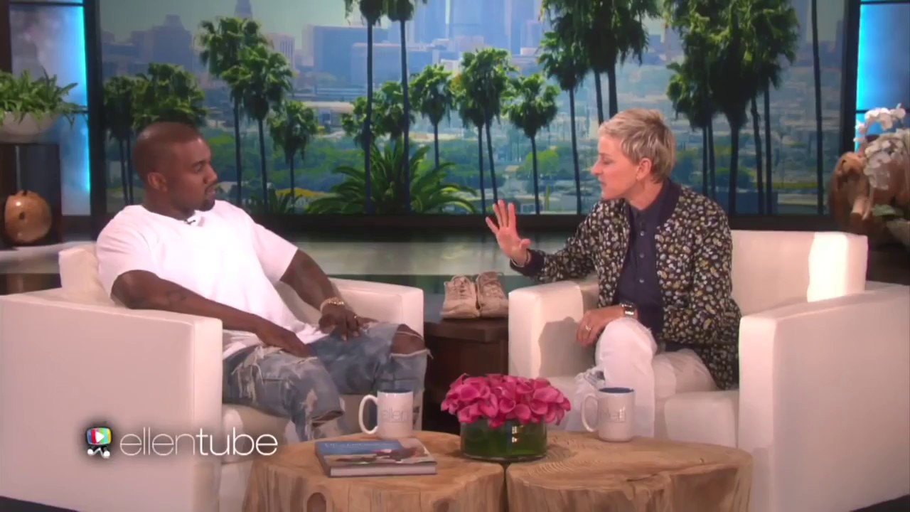 Kanye West FULL Banned Ellen Interview HD May 19 2016