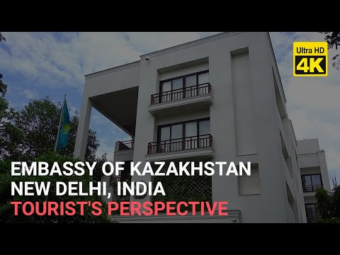Embassy of Kazakhstan in India 4K DELHI - 5 working days to process visa