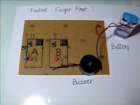 electronics mini projects with circuit diagram the gift of magi plot elpedia project fastest finger first youtube