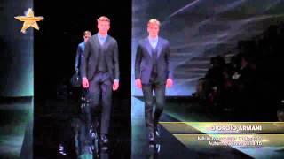 fashion week miln hombre   giorgio armani otoo invierno 2014 15
