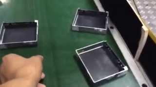Cardboard Box Making Machine Hm-zd240 (jewelry Box)