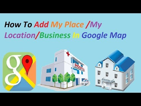 How to add a location on google maps...without using map maker
