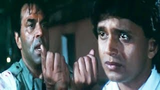 Dharmendra, Mithun Chakraborty, Ranjeet, Hum Se Na Takrana - Emotional Scene 13/14