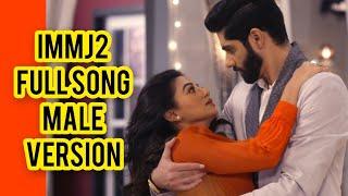 Ishq Mein Marjawan 2 Full Title Song   Male Version   Riansh Song   Colors   CODE NAME BADSHAH
