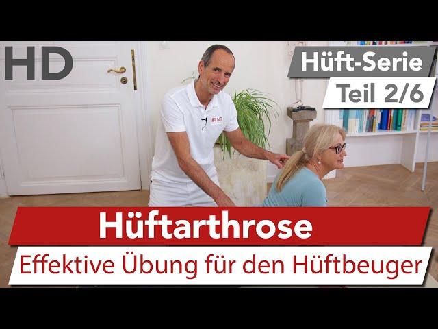 Hüftschmerz Übung (Hüftarthrose) // Effektive Übung gegen Hüftarthrose