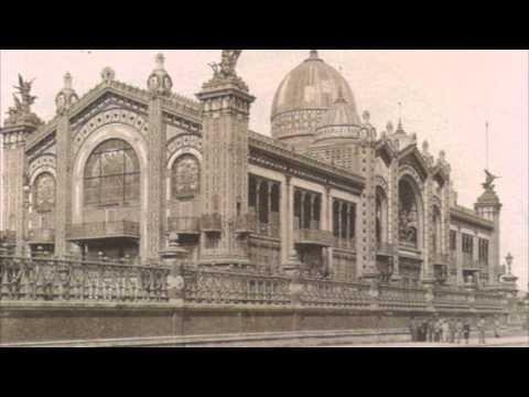 France, Paris, Exposition Universelle de Paris 1889 Photo Montage