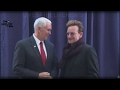 LAST NIGHT LEGENDARY ROCKER BONO GAVE MIKE PENCE SOMETHING UNBELIEVABLE!