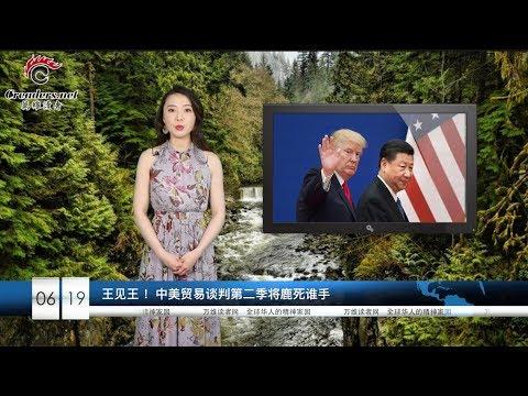 王见王 !中美贸易谈判第二季将鹿死谁手 | 中国将被迫出售美债  |   第二个华为!美参院听证讨论禁用中国制造无人机(《万维读报》20190619-2)