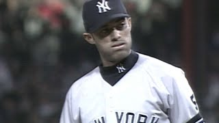 Rivera picks up the save for Yankees in 1999 ALCS Gm4