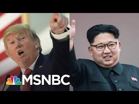 President Donald Trump's Unconventional Approach To North Korea   Morning Joe   MSNBC