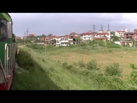 HSH T 669 1042 + 1057 Treni nr. 20 Durrës - Sukth ( -Tiranë ) - Mitfahrt - Albanian Railways