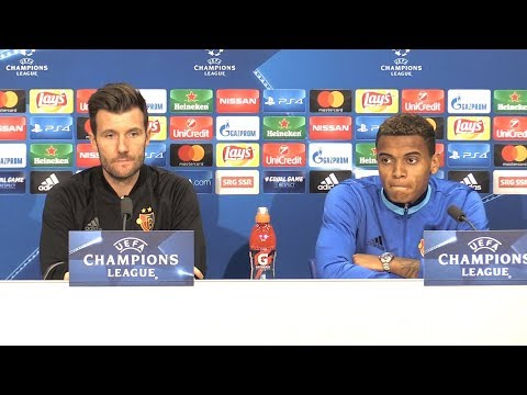 Raphael Wicky & Manuel Akanji Full Pre-Match Press Conference - FC Basel v Manchester United