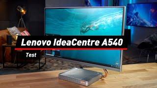 Lenovo IdeaCentre A540 im Test: schicker 27-Zöller | deutsch