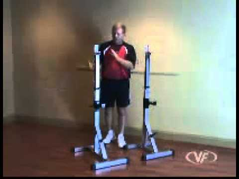 Deluxe Squat Stands Valor Athletics Bd 8 Youtube