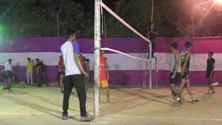 Rahul, Rohan vs Sandeep Yadav volleyball video 2018 Bhattmurna more New Akashkinari#Volleyball Tips