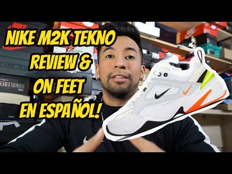 NIKE M2K TEKNO REVIEW & ON FEET EN ESPAÑOL!!!